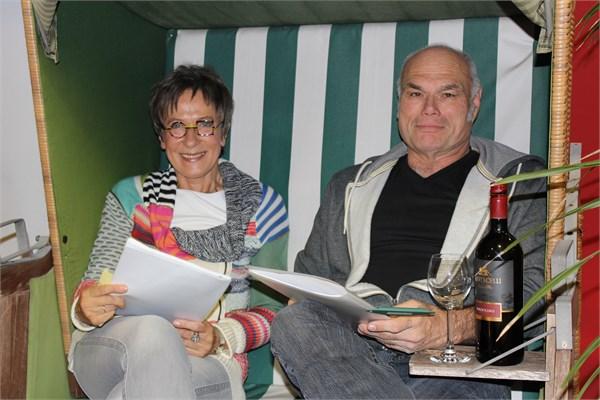Gisa Pauly und Ludger Burmann