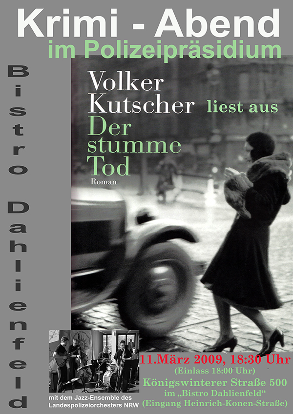 Volker Kutscher im Bonner Polizeipräsidium