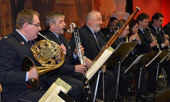 Das Harmonieensemble des Landespolizeiorchesters Nordrhein-Westfalen