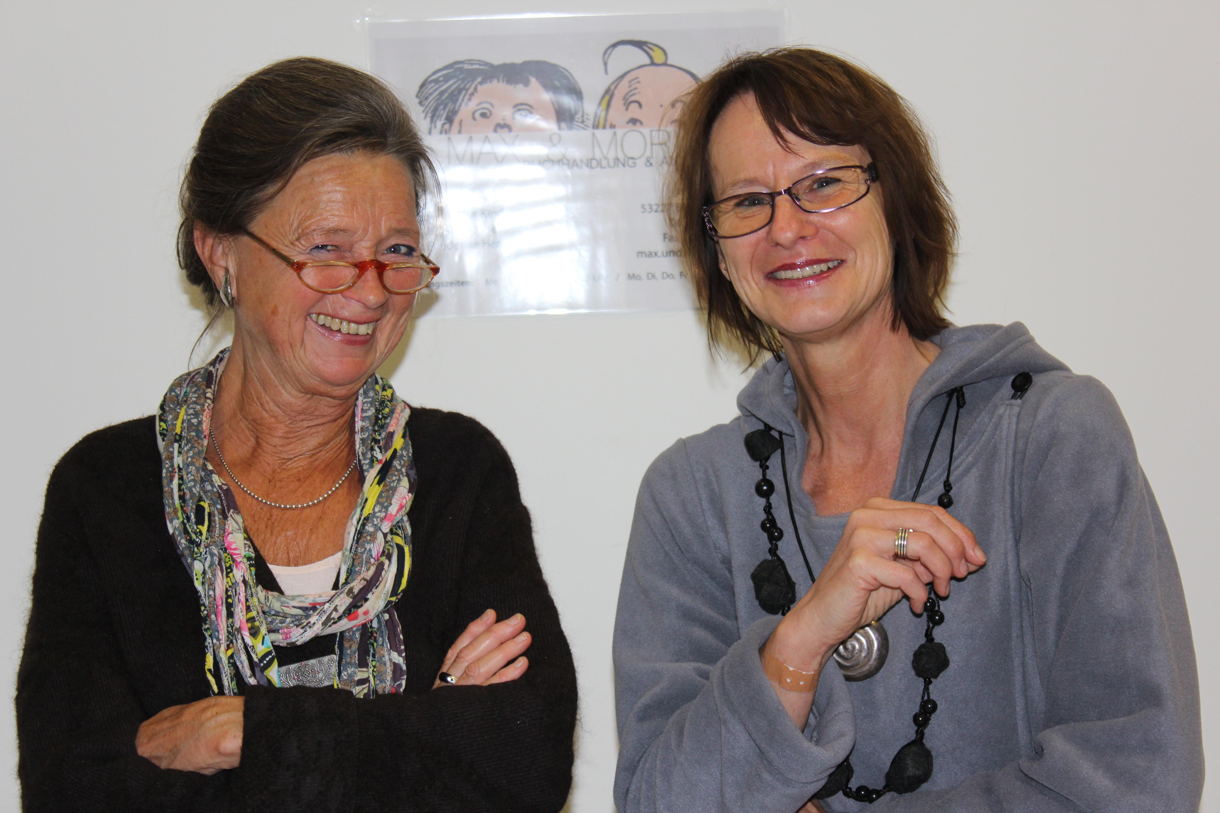 Mechthild Toyka und Friederike Herschel (re)