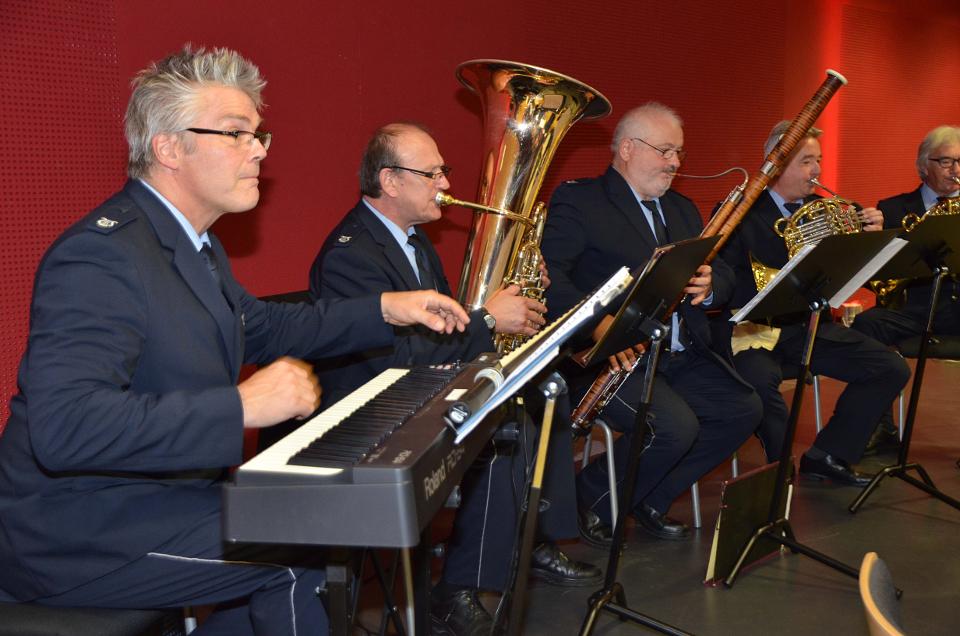 Scott Lawton und das Harmonieensemble des Landespolizeiorchesters NRW